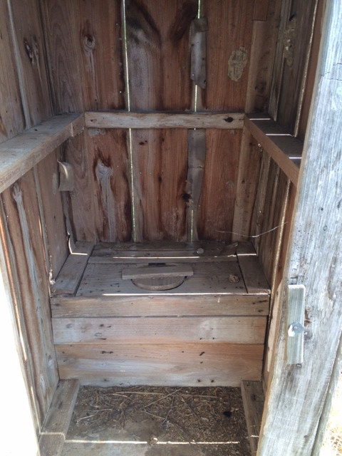 The Old Outhouse At Bb40 Bump Back40 Ranch